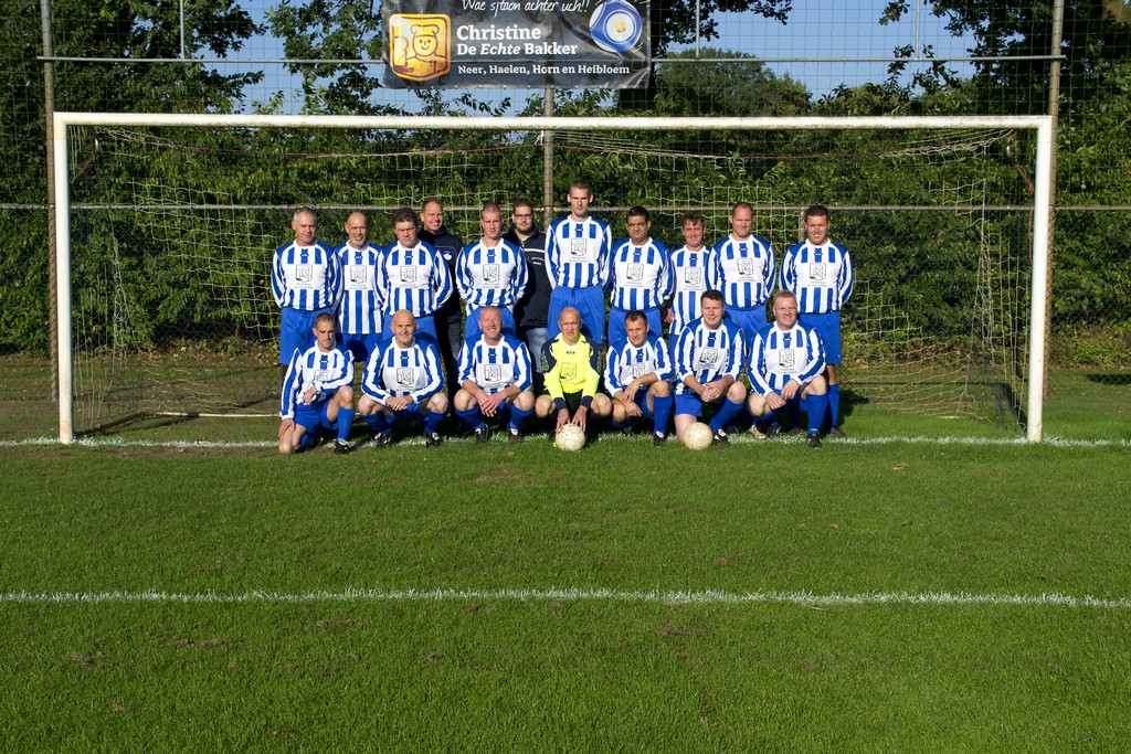 Teamfoto SVVH 1 seizoen 2015 - 2016